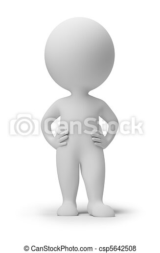 3d small people - confidence - csp5642508