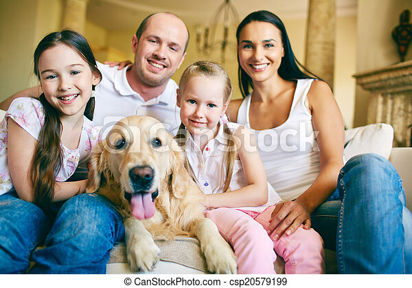 Affectionate family - csp20579199