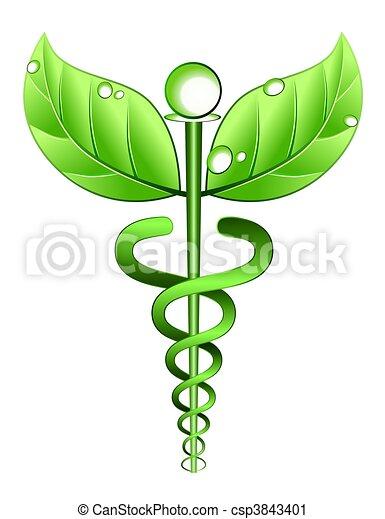 Alternative Medicine Symbol - csp3843401