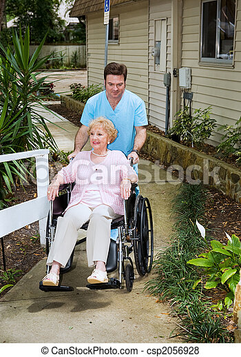 Arriving at the Nursing Home - csp2056928