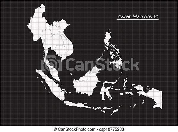 ASEAN Economic Community, AEC - csp18775233