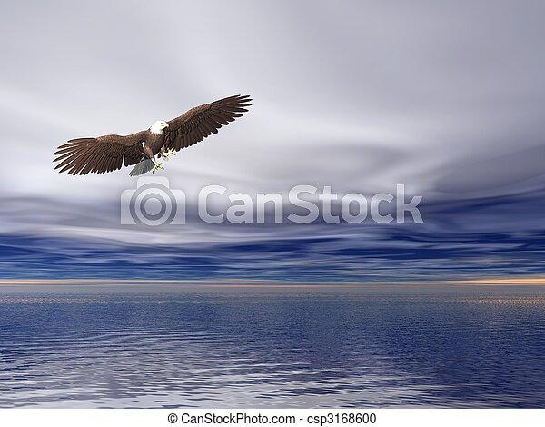 Bald Eagle - csp3168600