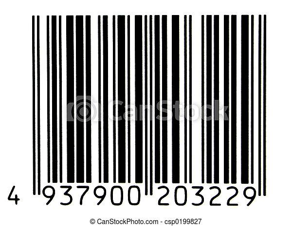 bar code - csp0199827