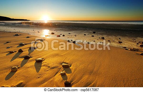 Beach Sunset - csp5617087