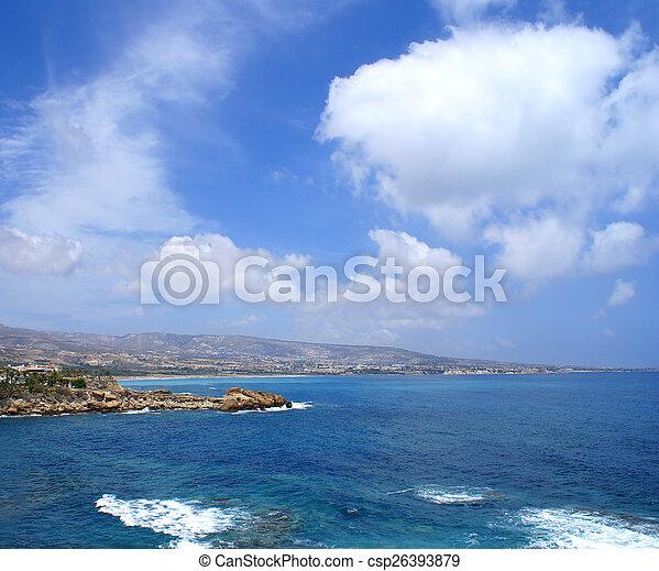 Beautiful view of Cyprus - csp26393879