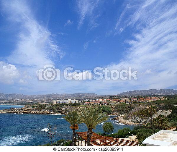 Beautiful view of Cyprus - csp26393911