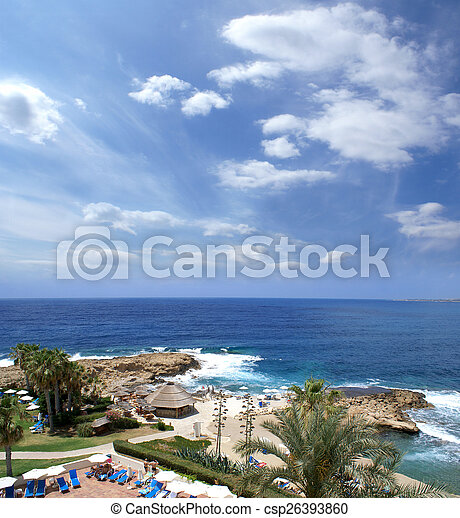 Beautiful view of Cyprus - csp26393860