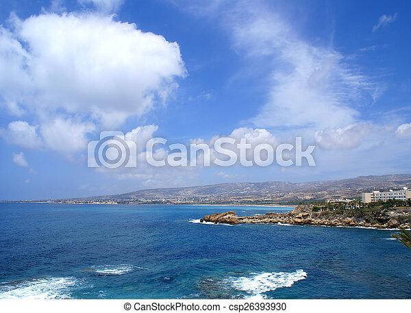 Beautiful view of Cyprus - csp26393930