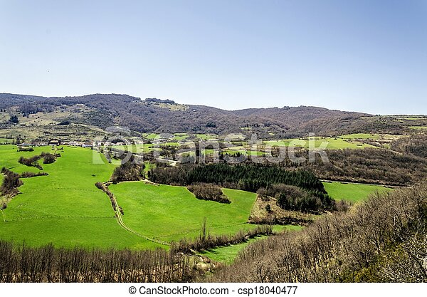 Beautiful view - csp18040477