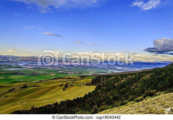 Beautiful view - csp18040442