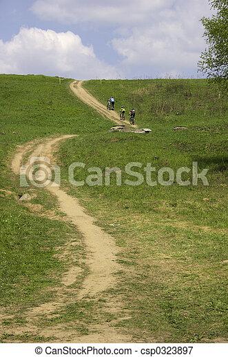 Bicycle road. - csp0323897