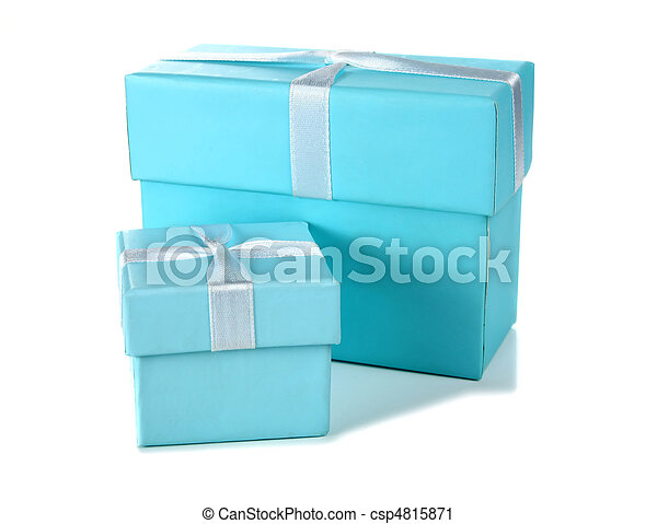 big and little blue box - csp4815871
