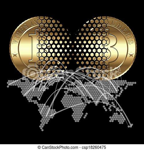 Bitcon Concept - csp18260475