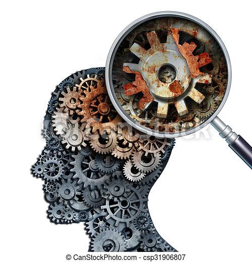 Brain Decline - csp31906807