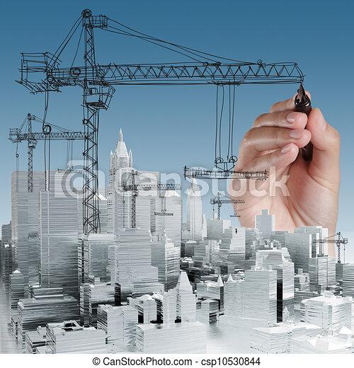 building development concept - csp10530844