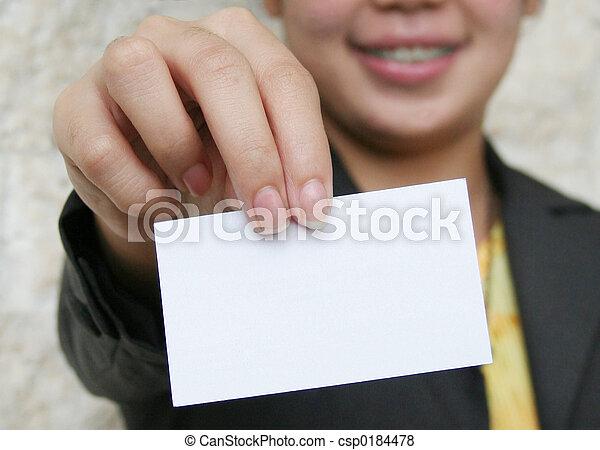 Business Card - csp0184478