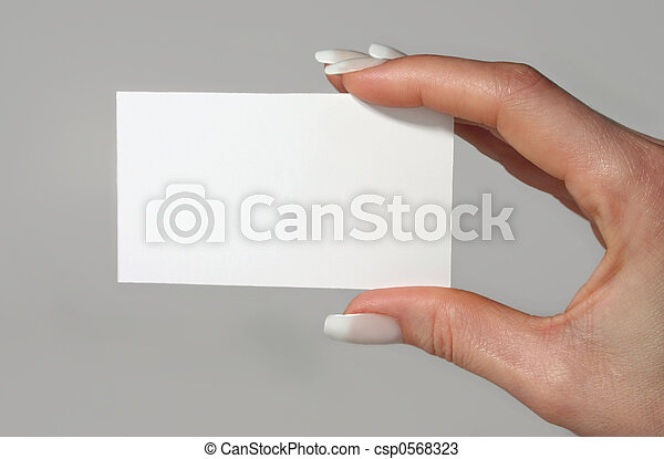 Business card - csp0568323