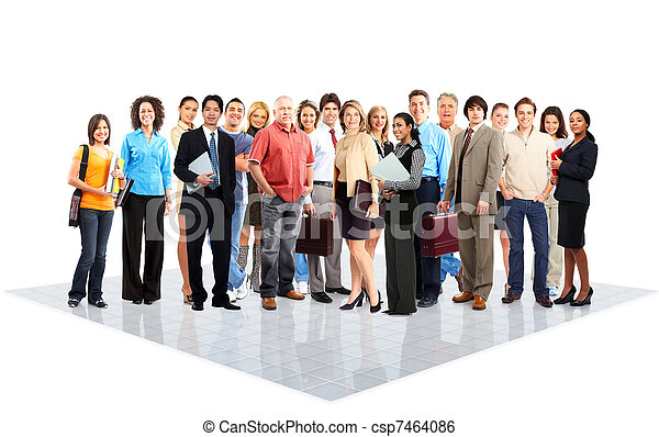 Business people. - csp7464086