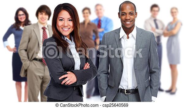 Business team. - csp25640569