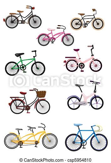cartoon Bicycle - csp5954810
