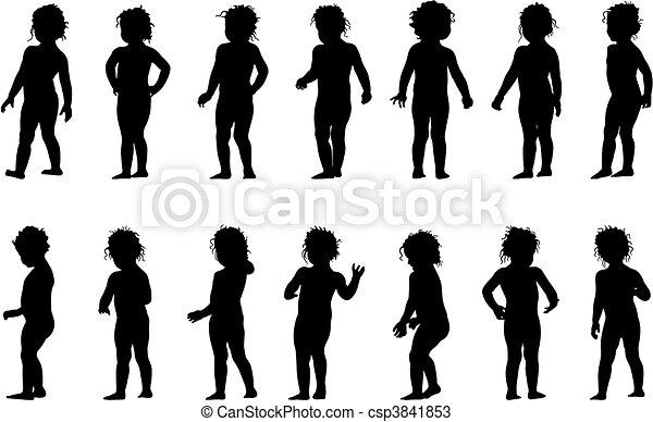 Child standing - csp3841853