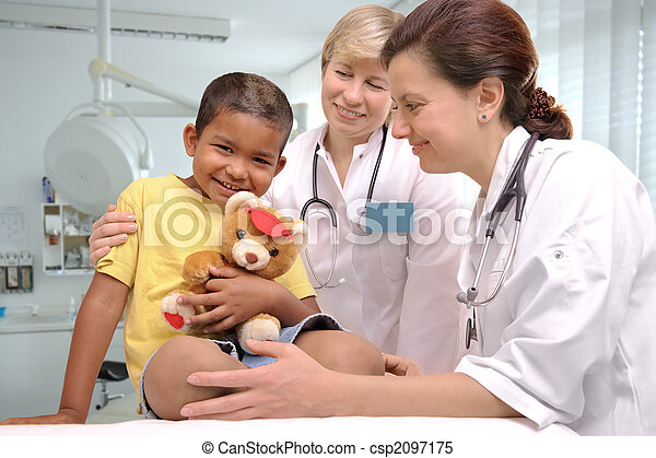 childrens doctors - csp2097175