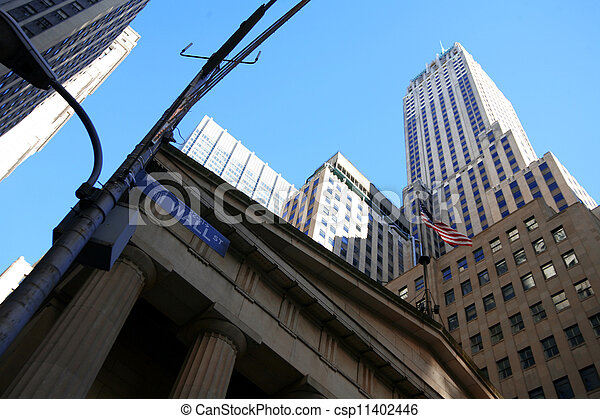 Classical NY - Wall Street - csp11402446