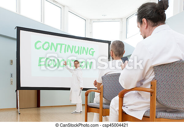 concept continuing education - csp45004421