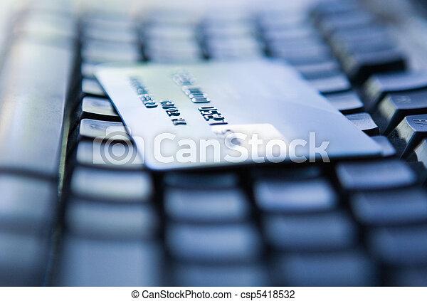Credit Card - csp5418532