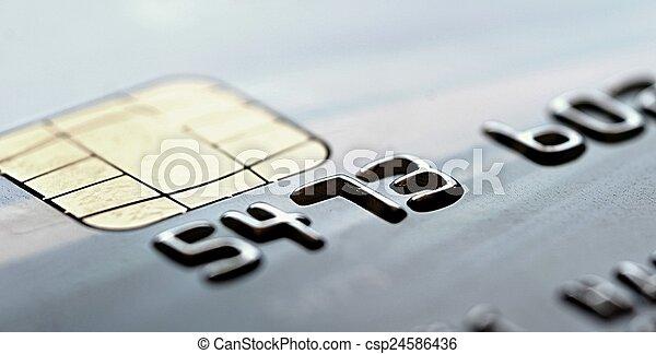 Credit card - csp24586436