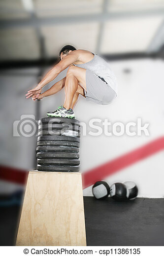 Crossfit Working Out Series - csp11386135