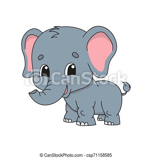 Cute cartoon vector illustration. - csp71158585