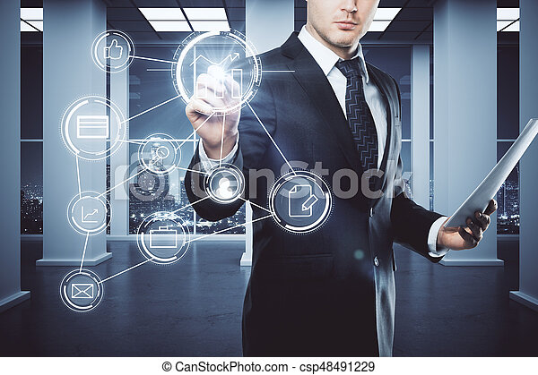 Digital concept - csp48491229