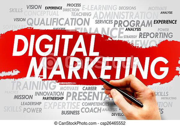 Digital Marketing - csp26465552