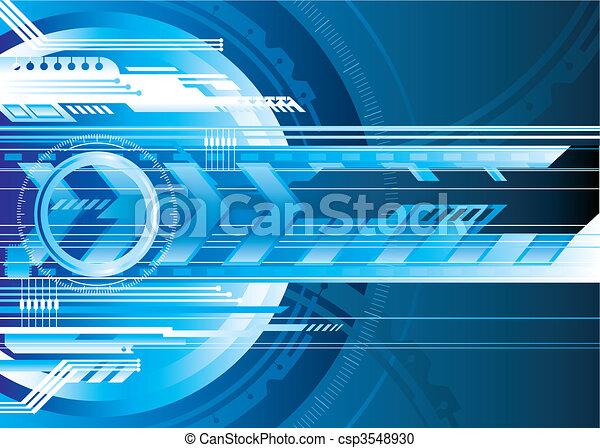 Digital Tech - csp3548930
