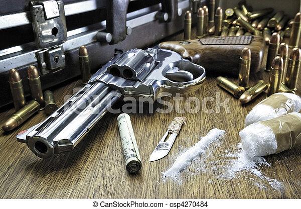 Drug Trafficking - csp4270484