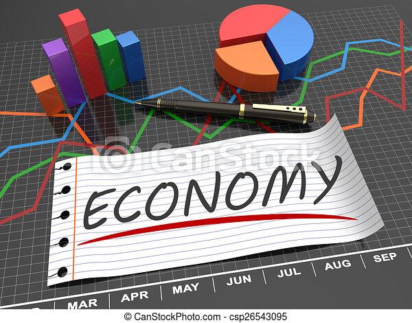 Economic budget - csp26543095