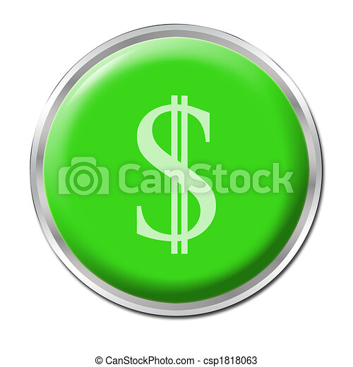 Economic Help Button - csp1818063