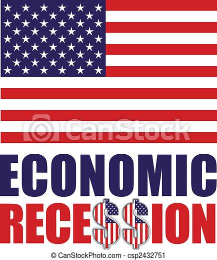 economic recession - csp2432751