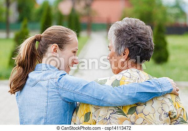 Elderly care - csp14113472