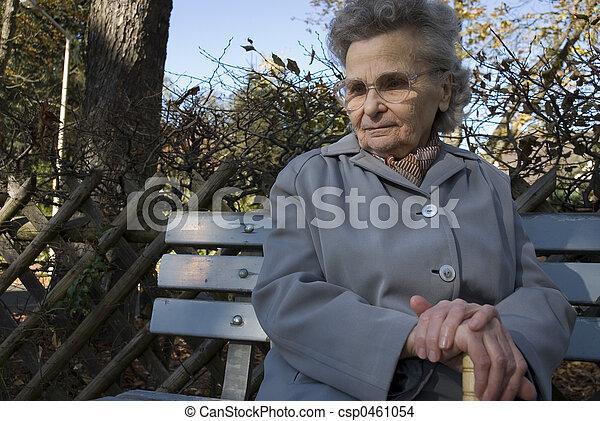 elderly woman - csp0461054