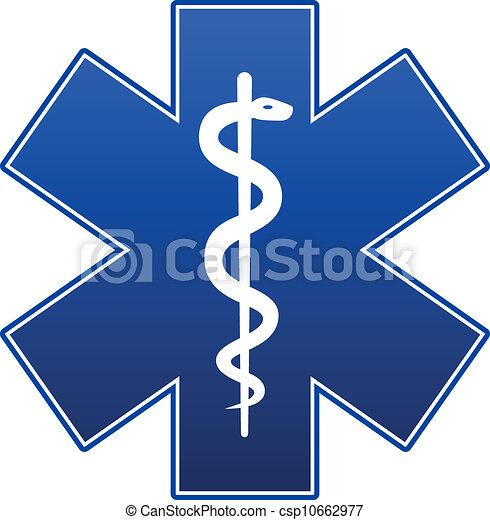 Emergency star - csp10662977
