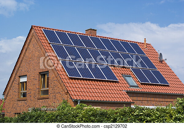 Environment friendly, solar panels. - csp2129702