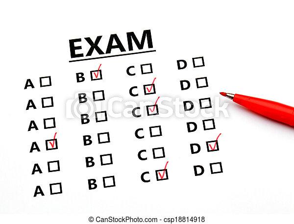 Examination sheet - csp18814918