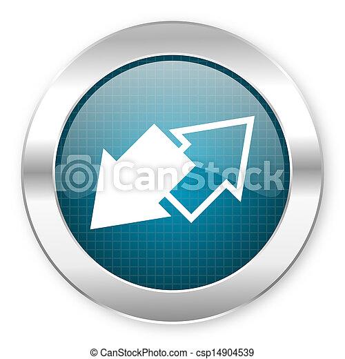 exchange icon - csp14904539
