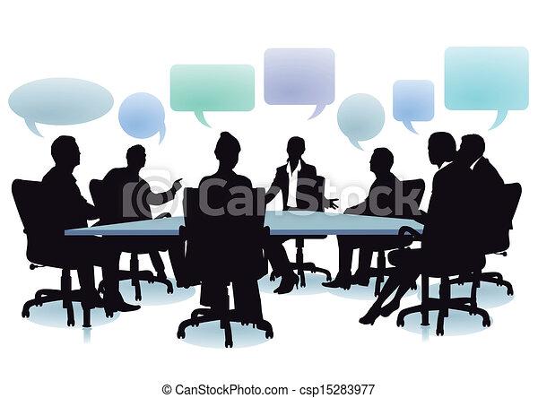 exchange of ideas - csp15283977