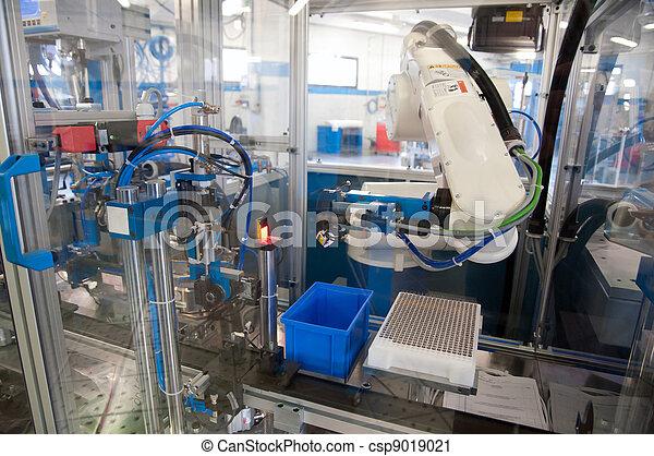 Factory - Building line e machine for automation - csp9019021