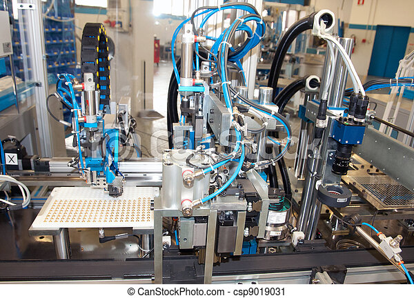 Factory - Building line e machine for automation - csp9019031