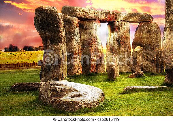 Fantasy Stonehenge - csp2615419