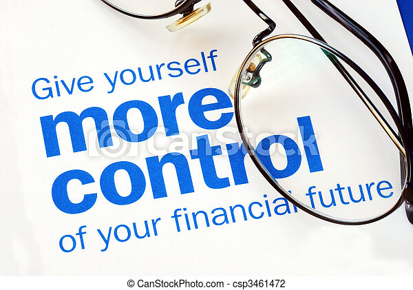 Focus on and take control of your financial future - csp3461472